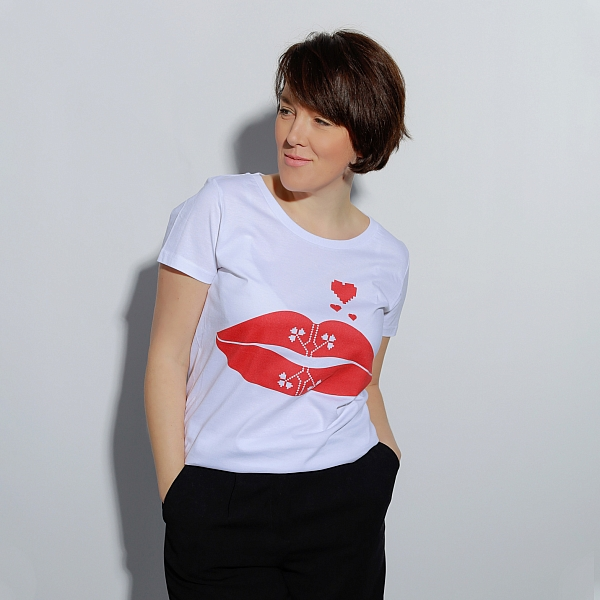 Organic cotton T-shirt BUZANA