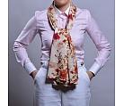 Camasa roz cu guler si mansete albe