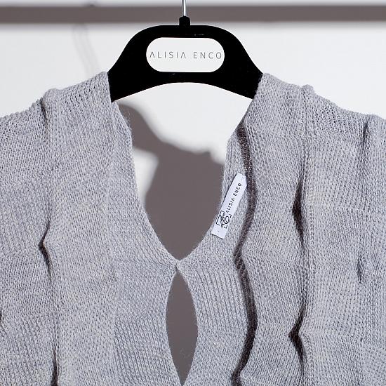 KATJA cardigan gris 1