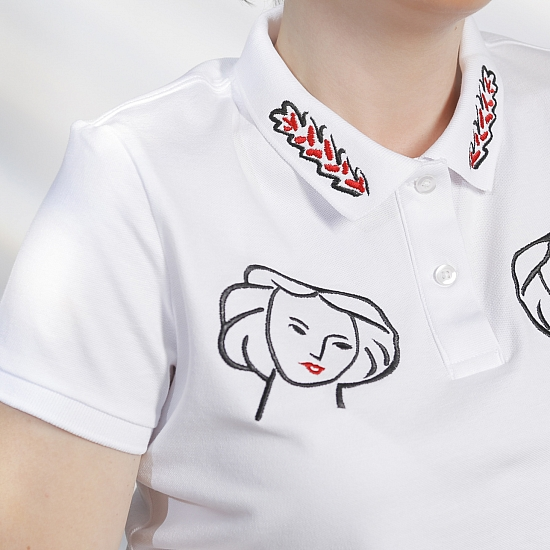 MATISSE organic cotton polo shirt 4