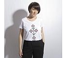 T-shirt white FILIGRAN organic cotton
