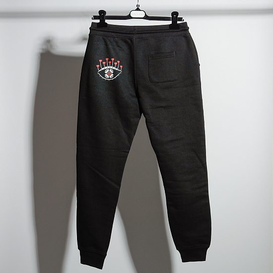 Pantaloni negri bumbac organic OCHIANA 2