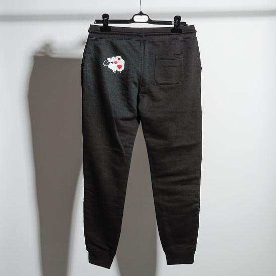 Pantaloni negri bumbac organic OIANA 2