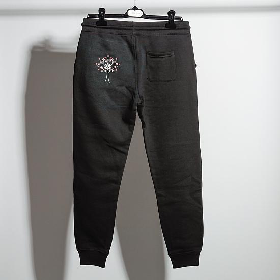 Organic cotton black trousers COPACANA 4