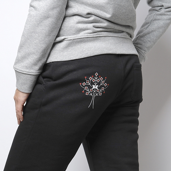 Organic cotton black trousers COPACANA 0
