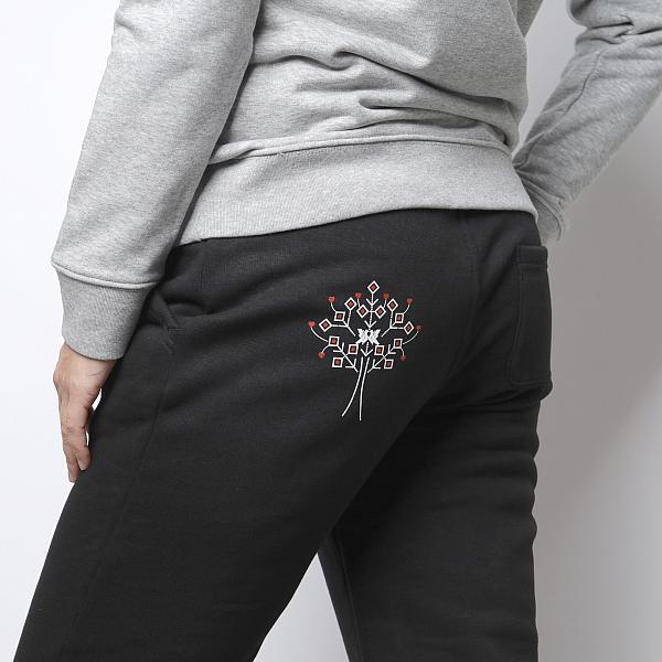 Organic cotton black trousers COPACANA