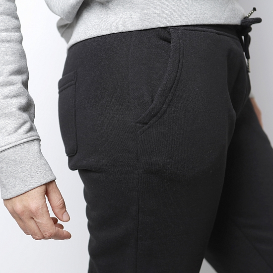 Pantaloni negri bumbac organic OIANA 4