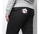 Pantaloni negri bumbac organic OIANA