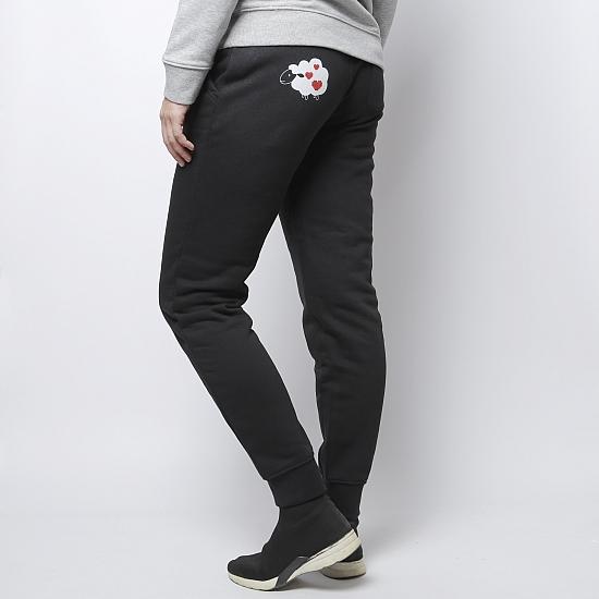 Pantaloni negri bumbac organic OIANA 1