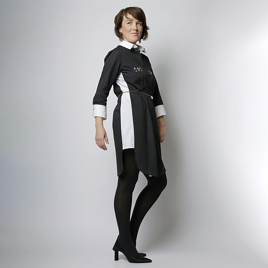 Robe chemise DANSE DES FILLES 4