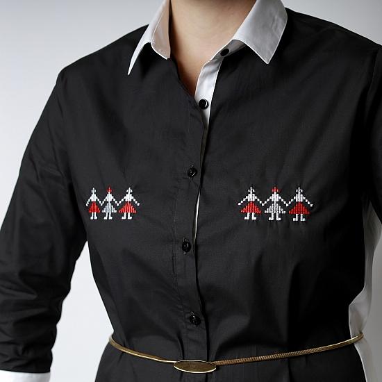 Robe chemise DANSE DES FILLES 5