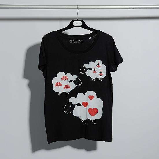 Bluza neagra bumbac organic OIANA 7