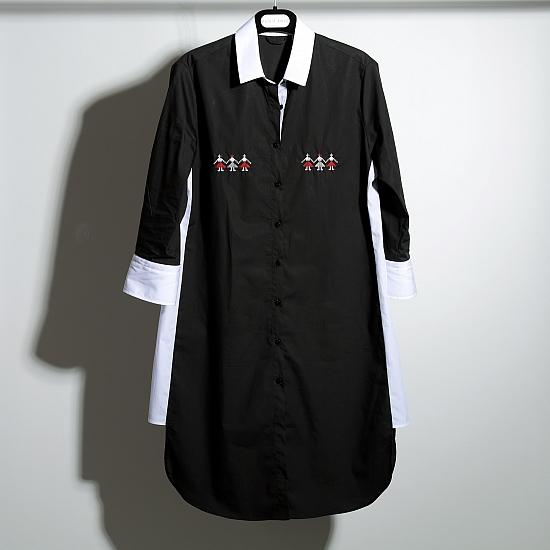 Robe chemise DANSE DES FILLES 1