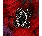 Brosa neagra Floare de mai