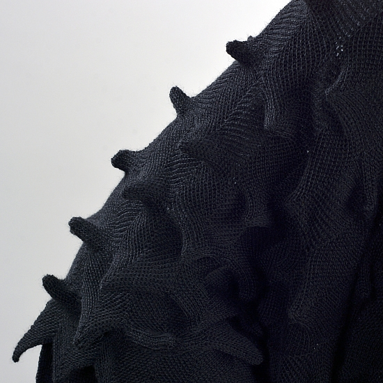 Cardigan negru STELLA 4