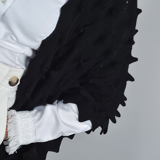 Cardigan negru STELLA 3